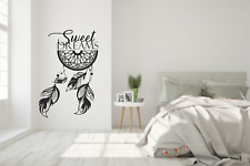 Sweet Dreams Dreamcatcher Wall Art Stickers Art Room Wall Decal Quote Decoration