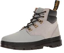 Dr. Martens Unisex Adults Rakim Biker Boots, Grey (Mid Grey Rhombus) Size UK 9