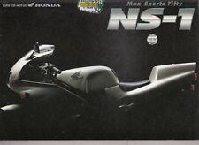 Honda NS -1  Prospekt Brochure  4 Seiten
