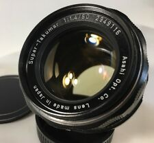 f/1.4 50mm Super Takumar Pentax M42 Screw Mount Manual Focus & Aperture (C872)