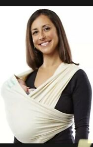Baby K'tan Organic Baby Carrier, Organic COTTON  Natural Carrier Size SMALL NEW