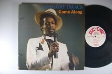 GREGORY ISAACS Come Along REGGAE LP Live and Love