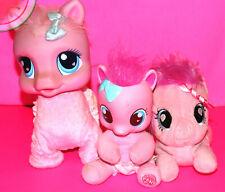 PINKIE PIE Bundle MY LITTLE PONY Baby Talks & Crawl / Playschool Friends / Plush