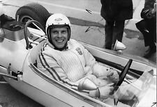 Photo originale Un homme et une femme Trintignant automobile Ford Brabham BT 6