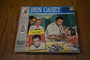 VINTAGE 1962 ~  ORIGINAL PACKAGING ~ Dr Ben Casey ~ Jigsaw Puzzle
