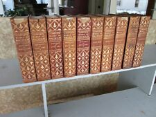 10 Vols. COMPLETE WORKS Of LORD MACAULAY,1892,Limited Edition 272/1000