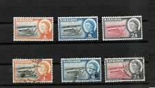 Barbados, 1961 QEII deep water harbour, complete set LMM and used (8281)