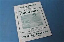 Rare! 1959 George Barris Autorama Rod & Custom Show Official Program