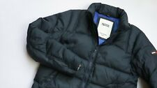 Tommy Hilfiger Insulated Puffer Jacket men top size XL navy blue DOWN FEATHER