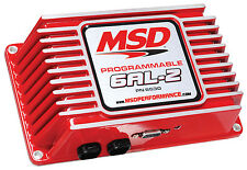 MSD 6530CR Programmable 6AL-2 Ignition Box (Factory Refurb)