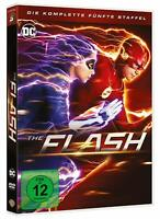 THE FLASH DIE KOMPLETTE FÜNFTE STAFFEL SEASON 5  DVD DEUTSCH
