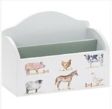 Post Rack Wood Farmyard Animals Letters Holder Country Countryside Traditional