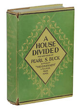 A House Divided PEARL S. BUCK First Edition 1st Printing 1935 Good Earth Trilogy