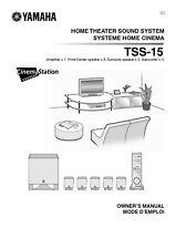 Yamaha TSS-15 Sound System Owners Manual