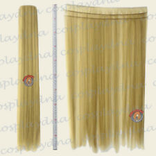 "Beige Blonde Hair Weft Extention (3 pieces) - 40"" High Temp - Cosplay Wig 8086"