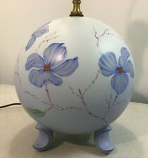 Vintage Rosenthal Selb Lamp Hand Painted Mid Century Modern