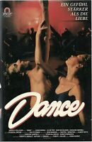 (VHS) Dance - Johan Rennvall, Ellen Troy, Carlton Wilborn - Tanzfilm USA (1988)