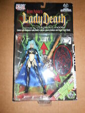 Chaos Comics LADY DEATH Clayburn Moore Action Figure serie 1 Glow Scare
