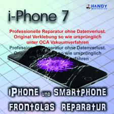 iPhone 7 Display Glas Frontglas Reparatur 1 Jahr Garantie ✔️ OCA