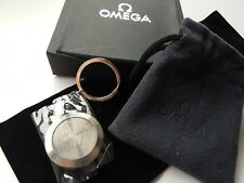 Omega 007 James Bond 50th Anniversary Stainless Steel keyring New & Boxed