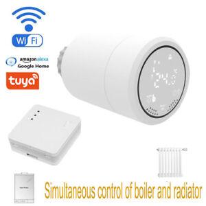 Wifi Radiator Thermostat Valve Tuya Zigbee Temperature Controller Zigbee Trv Hub