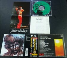 JIMI HENDRIX - The Cry Of Love - 1991 Japan obi + Pin up