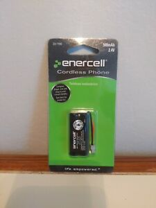 Enercell Rechargeable Ni-MH 2.4v 500mAh Cordless Phone Battery 23-1190