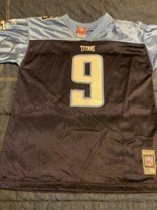 Steve McNair Tennessee TitansNFL Jersey Boys XL Unworn and Vintage.