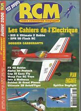 RCM  N°303 PLAN : SPITFIRE DOGFIGHT / CAHIERS ELECTRIQUES / DOSSIER CARBURANTS