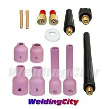 """TIG Welding Gas Lens Accessory Kit (3/32"""") for Torch 9/20/25 T40B   US Seller"""