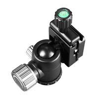 Mini Stativ Fluid Kugelkopf Mit Schnellwechselplatte Für DSLR Kamera, 360 Grad