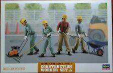 Hasegawa 1/35 Construction Worker Set A, 4 operator one female