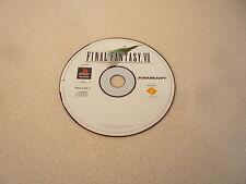 FINAL FANTASY VII DISC 3 OF 3 SONY PLAYSTATION 1 PS1 SQUARESOFT PAL