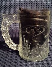 Batman Forever BATMAN Glass Mug Coffee Cup McDonalds 1995 Vintage France