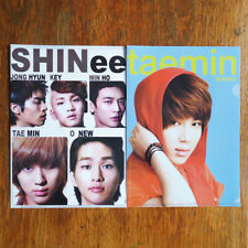 SHINee Kpop K-pop Clear Files / Folders from SM Town New (Set of 2)