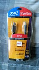 Belkin USB 2.0 10' High Speed Cable Brand New
