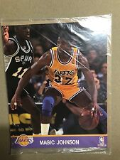 MAGIC JOHNSON PHOTO -  NBA HOOPS 1991