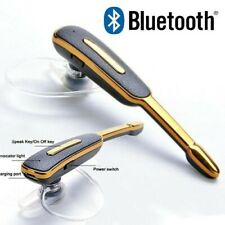 Bluetooth Headset Wireless Headphones Earphone Casque Audio Hea- BLACK/GOLD