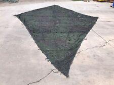 MILITARY CAMO NET CAMOUFLAGE NETTING DIAMOND 27' X 16' WOODLAND RADAR SCATTERING