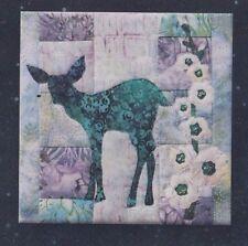 Fawn'd of Flowers - gorgeous applique block PATTERN - McKenna Ryan