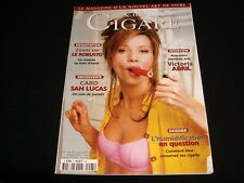 Club CIGARE<>MARCH 1999 No. 5<>RARE French  Magazine ° VICTORIA ABRIL
