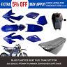 Blue Plastics Seat Fuel Tank Set for 200cc 250cc Atomik Hummer Dirt Trail Bike