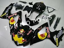 For GSXR600/750 2008-2010 ABS Injection Mold Bodywork Fairing Kit Black Yellow