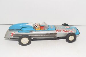 Vintage 1960s Tin-Litho No. 31 Friction Jet Racer Car - Japan