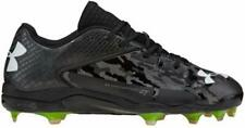 Under Armour Men's Ua Deception Low Diamond Tips Baseball Cleats 10.5 Black