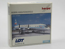 Herpa Wings 510561 Ilyushin IL-18 LOT Polish Airlines Flugzeug-Modell 1:500 OVP