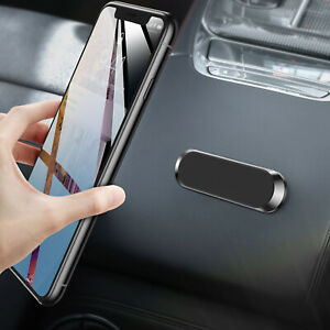 Mini Car Dashboard Metal Strip Shape Magnetic Phone Holder Stand For Cell Phones