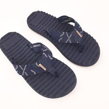Freewaters Men's Sz 9 NWT Treeline MO-041 Therm-a-Rest Navy Flip Flop Sandal