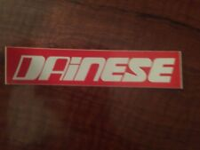 DAINESE STICKER CLASSIC VINTAGE 165X 35MM RED
