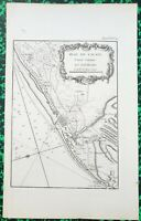 XVIII ème - Dépt 62 - Beau Plan Calais et Environs par J Ayrouard 32x20 cm 1757
